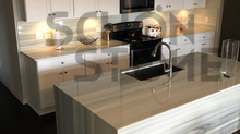 Kitchen Installation: Nanoglass
