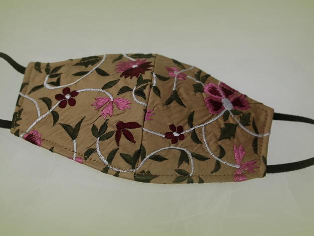 Embroidered Silk Dupion  £18