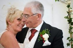 Debbie Wearing bespoke bridal hairpi