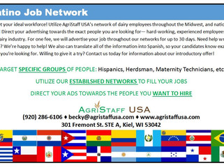 Advertise your job to your target community