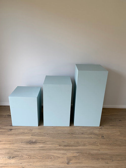 Pale Blue Plinth Plinth 40x70