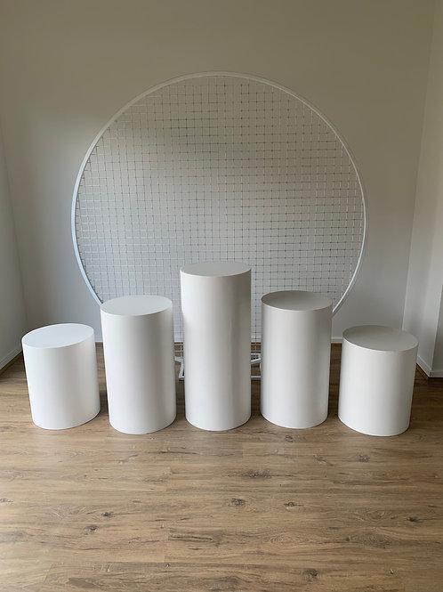5 Plinth Set