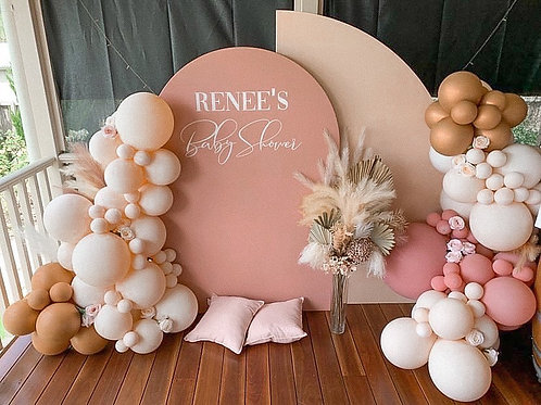 Nude Sail & Dusty pink Arch