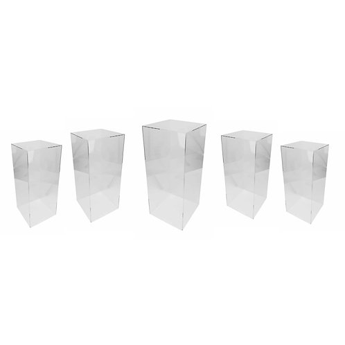5 Ghost Square plinths