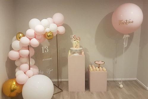 Blush Pink Plinth 40 x 90