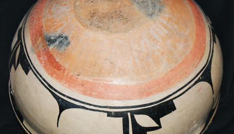 Cochiti Pueblo Pottery Dough Bowl C. 1910s