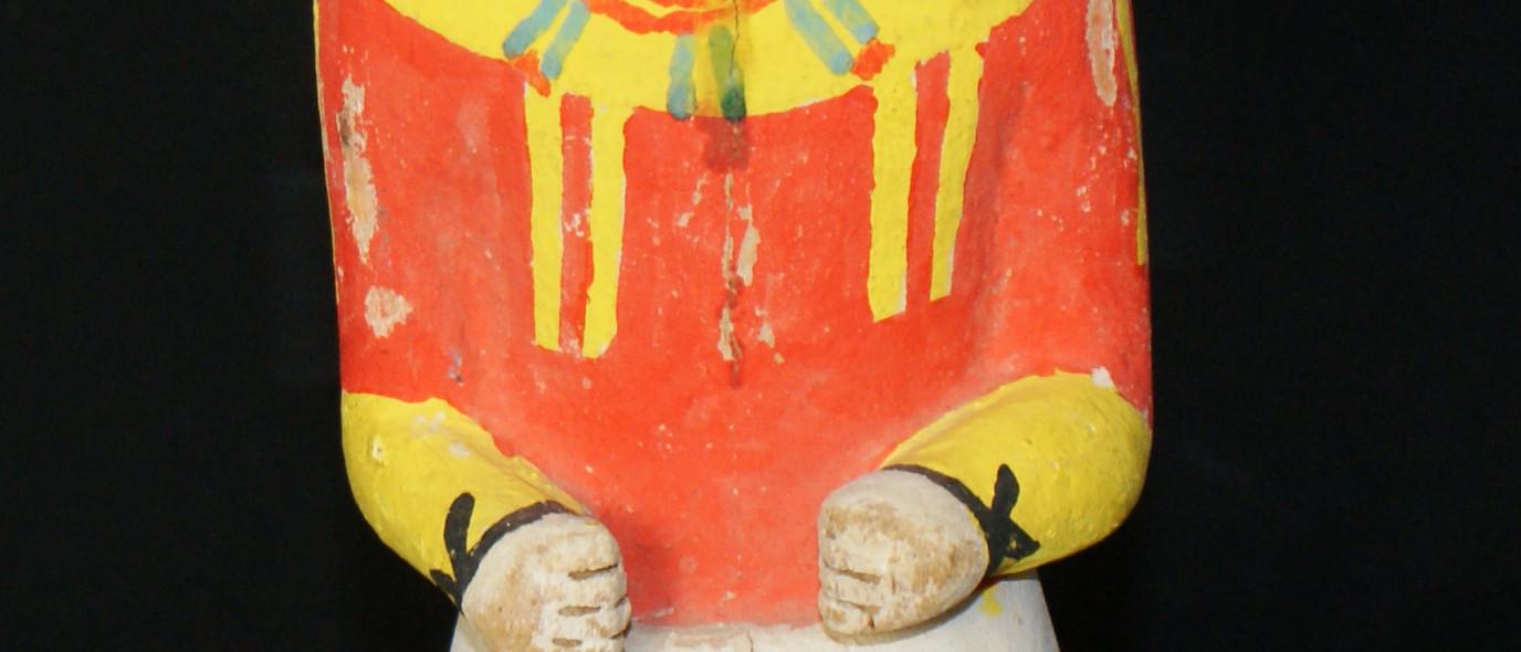 Hopi Holi Katsina Doll Circa 1930's Ex Judson Ball Collection