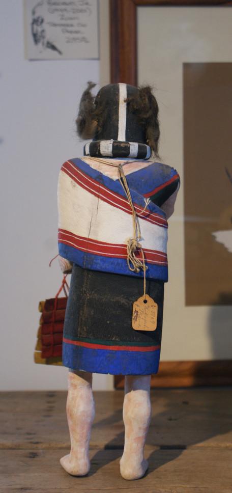 Hopi Pueblo Kokopelli Katsina Circa 1950's