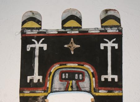Hopi Sio Hemis Katsina Tablita Circa 1930's