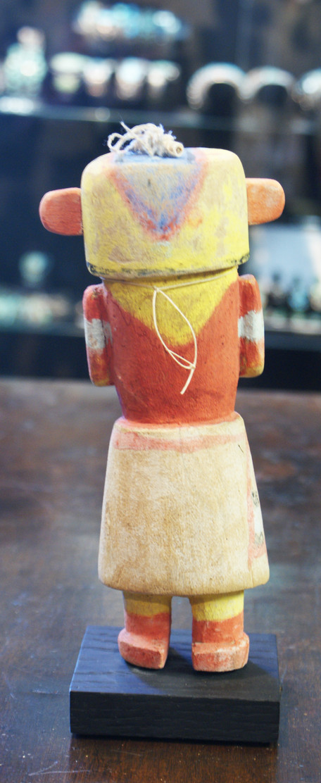 Hopi Pueblo 1930's Polychrome Ho'ote Katsina Doll