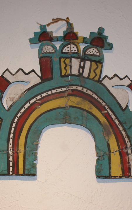 Large and Impressive Hopi Pueblo Circa 1930's Tablita