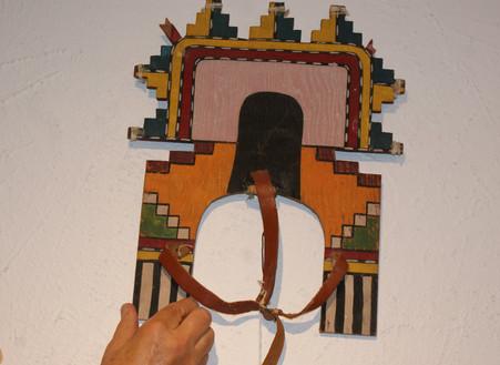Hopi Tablita 1940's Tablita