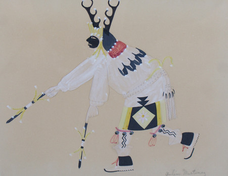 """Deer Dancer"" Julian Martinez (1885-1943)"