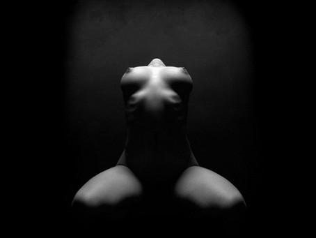 Nude art studio photography
