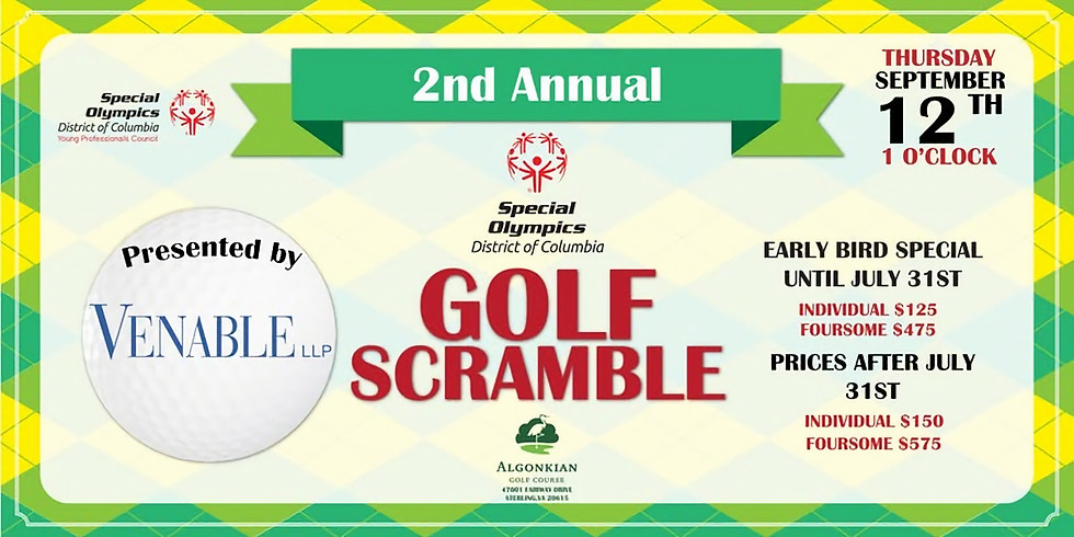 Charity Tournament for Special Olympics