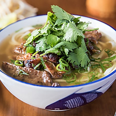 Chargrilled Chicken Noodle Soup