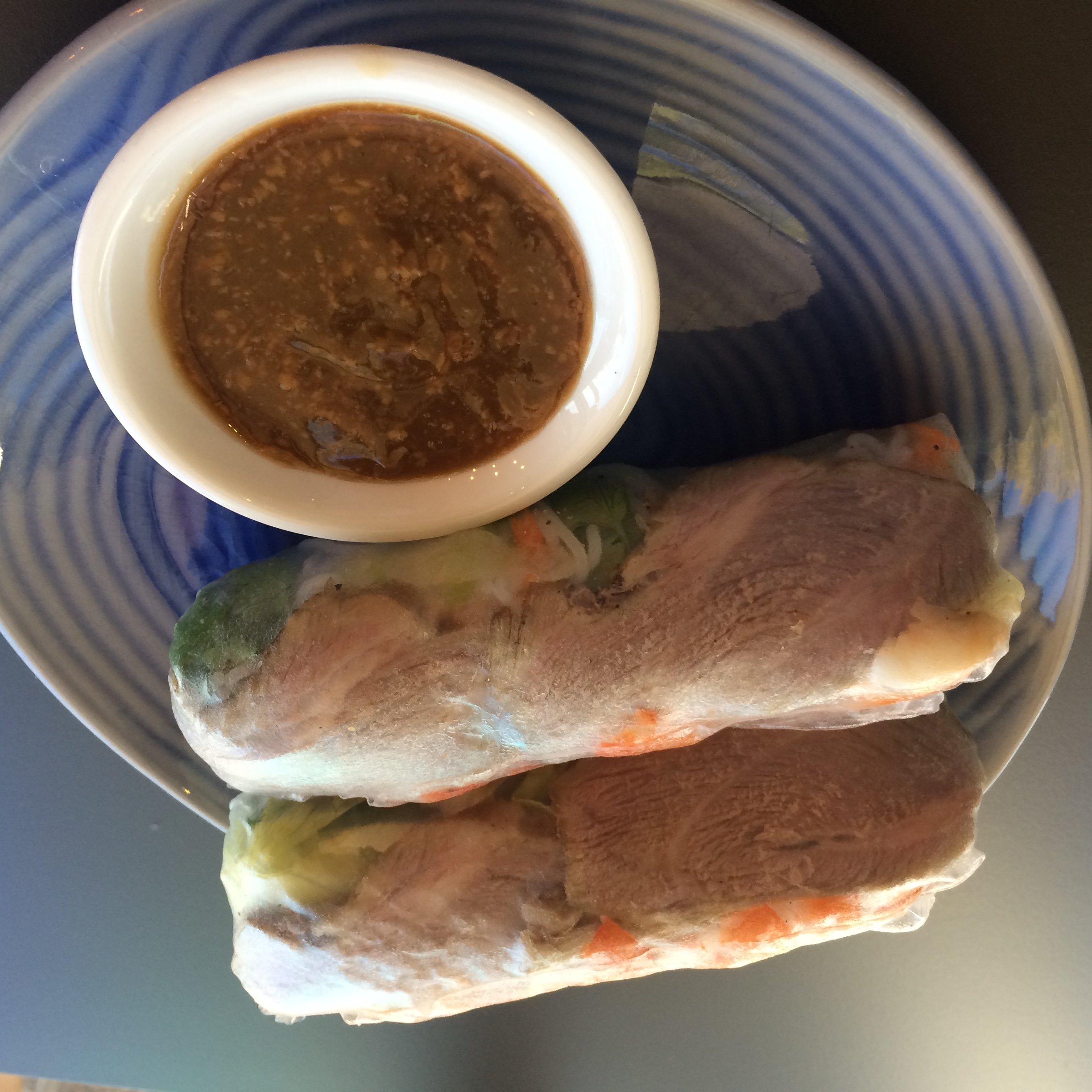 Pork & Prawn Rice Paper Roll