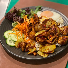 Lemongrass Chilli Chicken & Rice