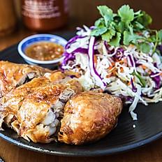 Crispy Skin Chicken Salad
