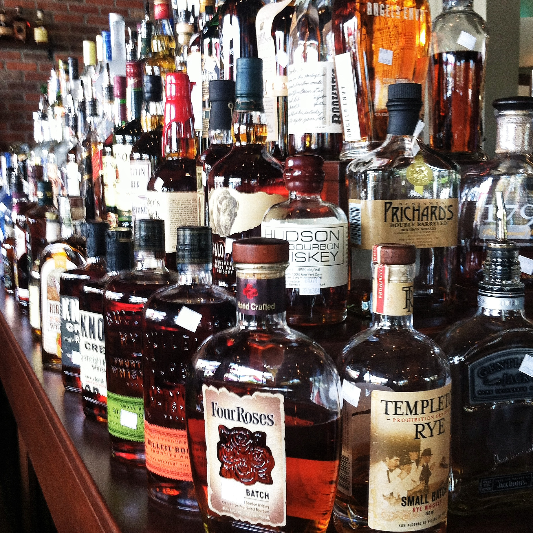 Plenty of Whiskey, Bourbon, & Scotch