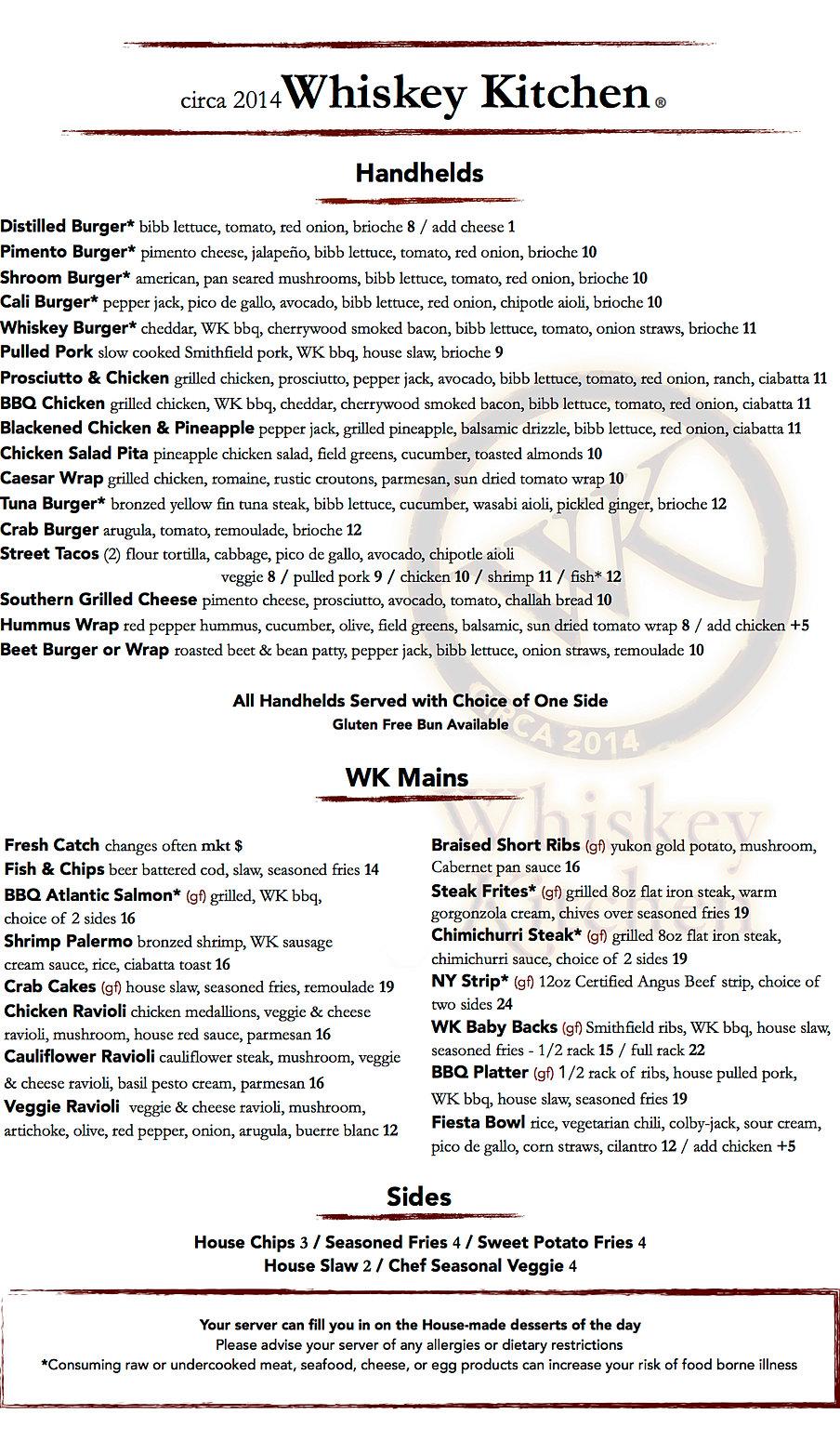 the whiskey kitchen / restaurant & pub / virginia beach | eats