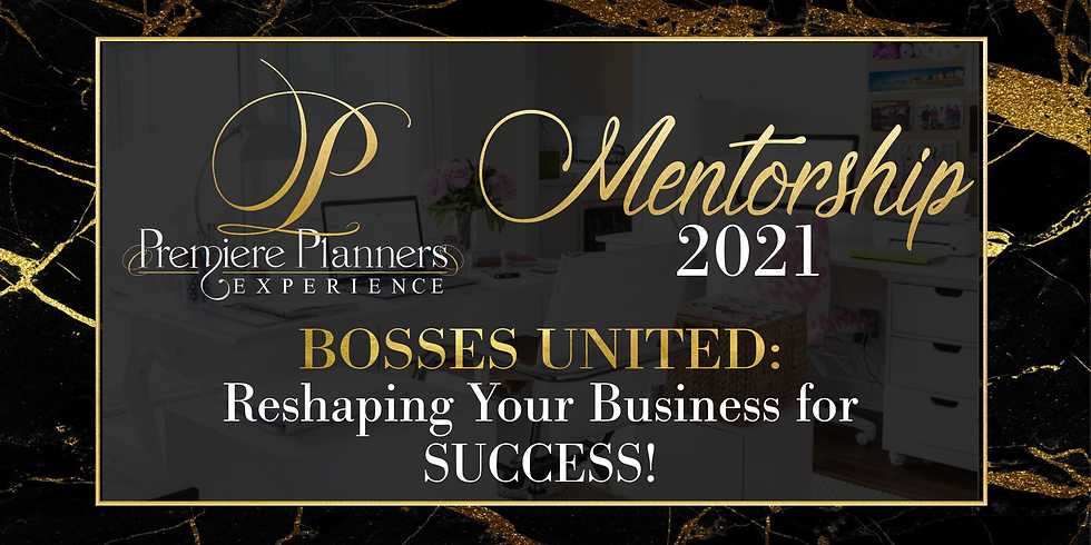 Mentorship 2021 Reshaping Your Business for Success