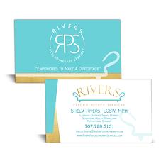 Crystal Pixa Business Cards