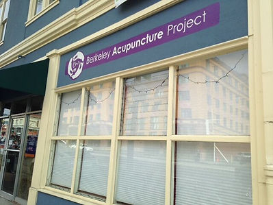 Berkeley Acupuncture Project of CA previous store front