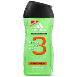 Adidas 3In1 After Sport Showgel 250ml