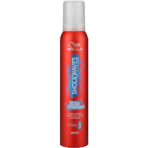 WELLA ShockWave Strong Hold Mousse 200