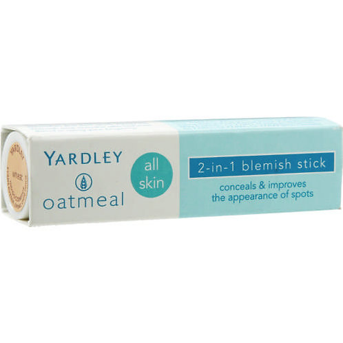 Yardley Oatmeal Blemish Stick 2-in-1 Caramel