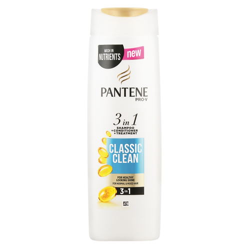 Pantene Shampoo 3in1 Classic Clean 360ml