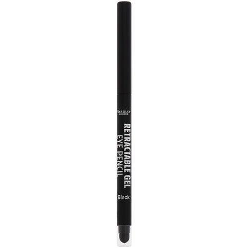 YARDLEY Gel Retractable Eye Pen BLACK