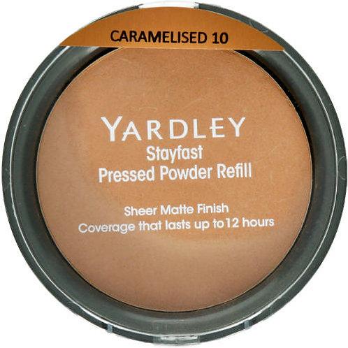 YARDLEY Stayfast Pressed Powder Refill CARAMELIS