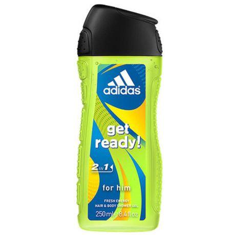 Adidas Get Ready Shower Gel - 250ml
