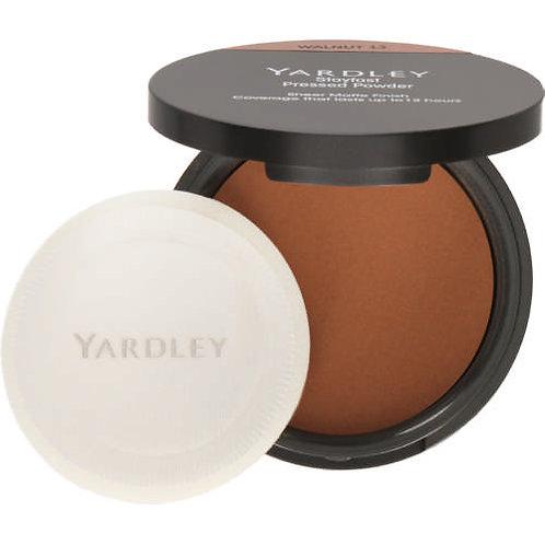 YARDLEY Stayfast Pressed Powder WALNUT