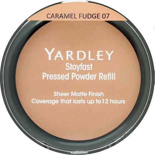 YARDLEY Stayfast Pressed Powder Refill CARAMEL FUDGE