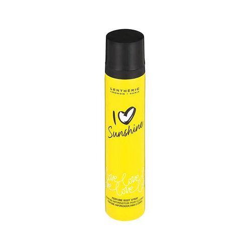 Lentheric I Love Body Spray 90ml Sunshine