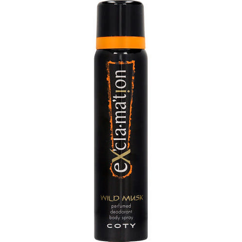 COTY EXCLMATION WMusk BodSpray 90ML