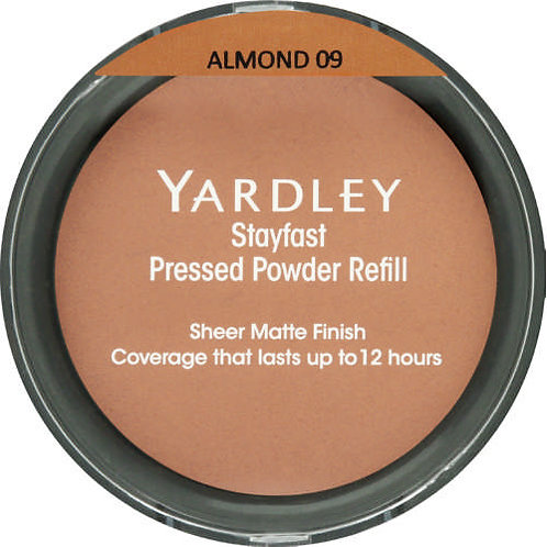 YARDLEY Stayfast Pressed Powder Refill ALMOND