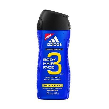 Adidas 3In1 Sport Energy Showgel 250ml