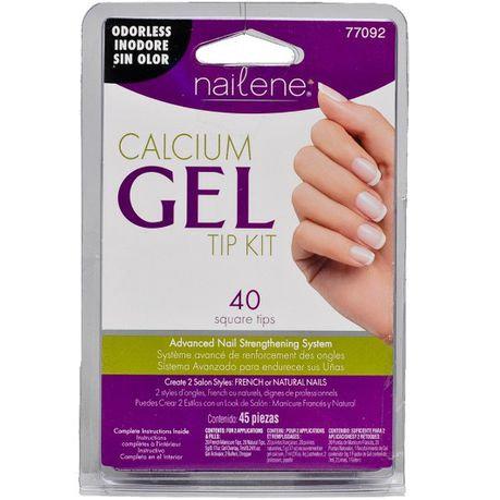 NAILENE Calcium Gel TipKit 77092