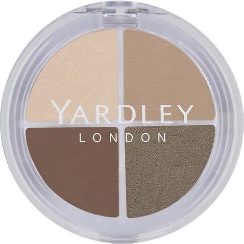 YARDLEY Eyeshadow Quad SATIN TAUPE