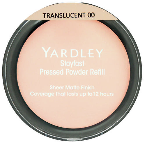 YARDLEY Stayfast Pressed Powder Refill Transculent