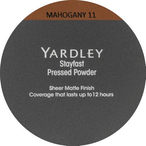 YARDLEY Stayfast Pressed Powder MAHOGANY