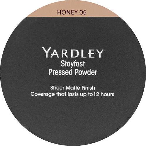 YARDLEY Stayfast Pressed Powder HONEY
