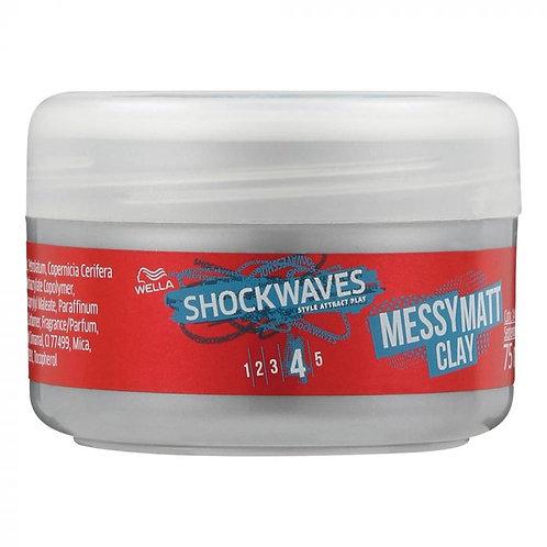 WELLA ShockWave Go Matt ClayMessy 75