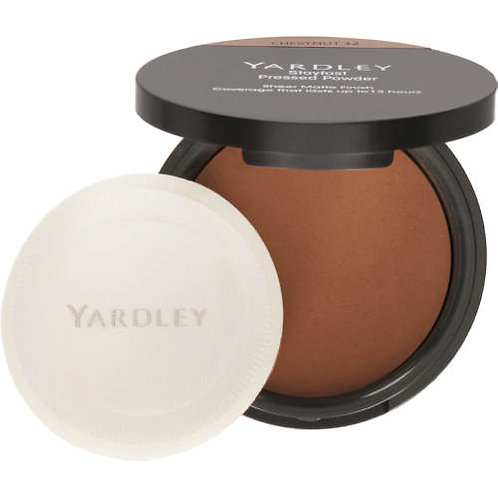 YARDLEY Stayfast Pressed Powder CHESTNUT