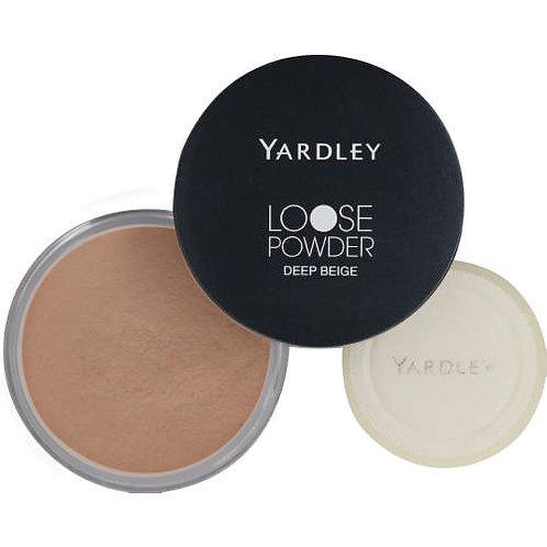 YARDLEY Loose Powder DEEP BEIGE