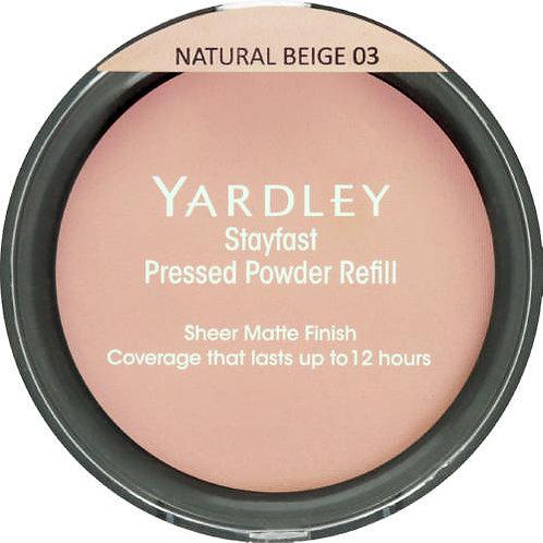 YARD Stayfast Pressed Powder Refill  NATURAL BEIGE
